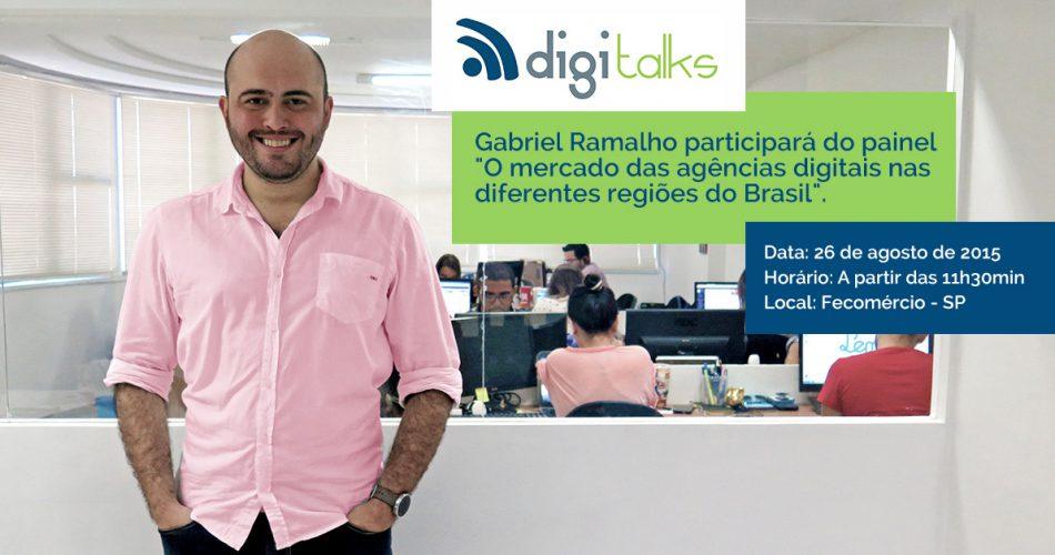 Gabriel Ramalho é presença confirmada na Expo Fórum de Marketing Digital – DigiTalks, em SP