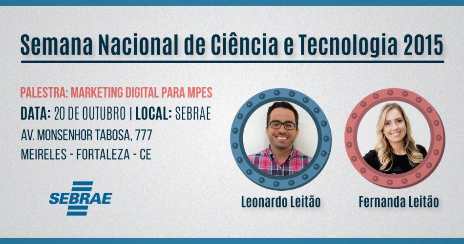 Sócios da Leme Digital participam da Semana Nacional de Ciência e Tecnologia 2015
