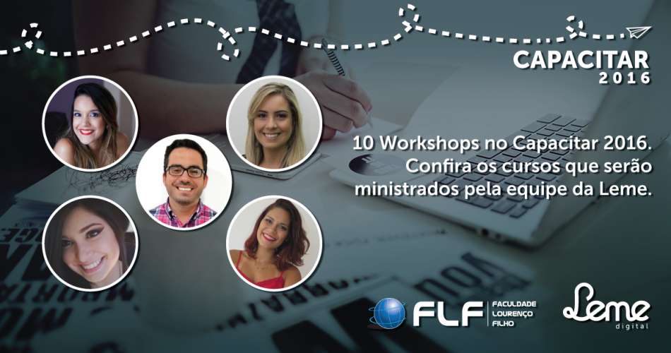 Equipe da Leme Digital ministra workshops no Capacitar 2016