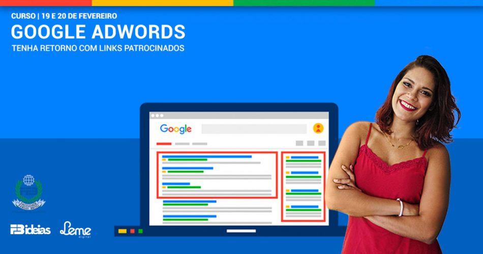 Renata Blima ministra curso sobre Google Adwords em parceria com FB Ideias