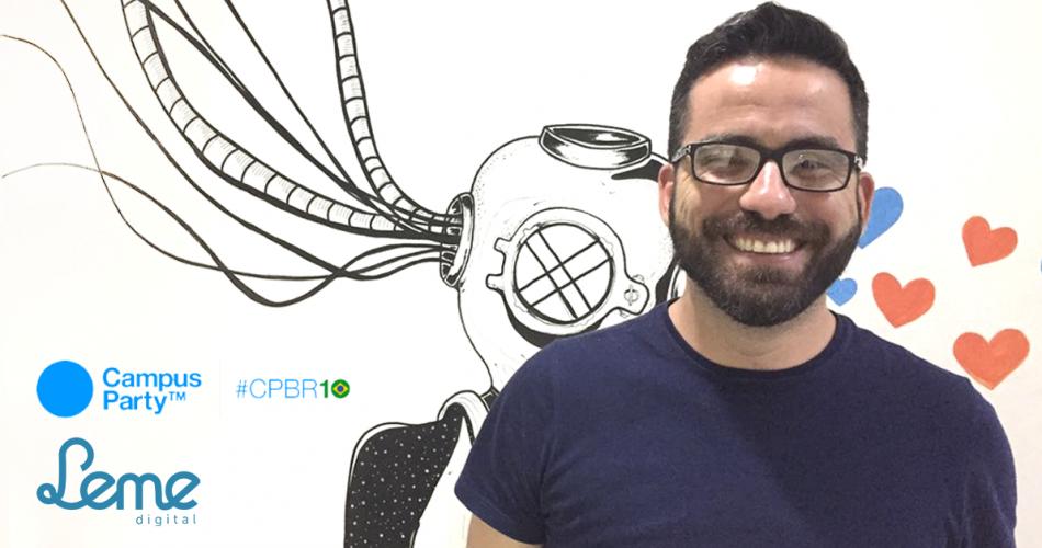 Leonardo Leitão participa da 10ª edição da Campus Party Brasil