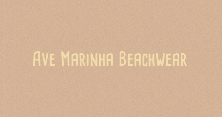 Ave Marinha Beachwear